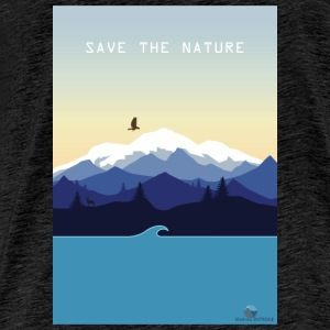 Save Nature - Mannen Premium T-shirt