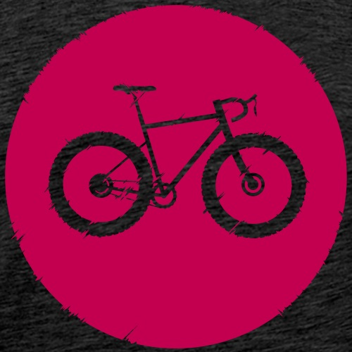 Bycicle Dot - Männer Premium T-Shirt