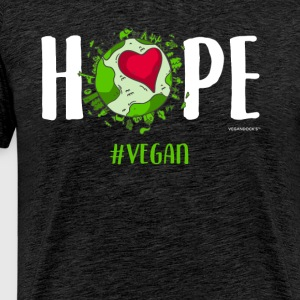 Hope #Vegan - Men's Premium T-Shirt
