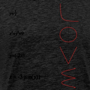 Math love - Men's Premium T-Shirt