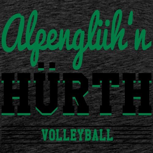 Alpenglüh'n Hürth CollegestyleB individualisierbar - Männer Premium T-Shirt