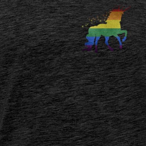 LGBT Regenbogen Flagge Einhorn