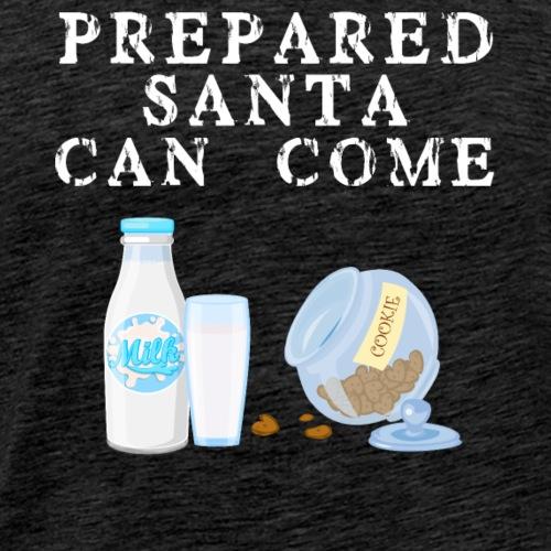 Vorbereitetet der Weihnachtsmann kann kommen