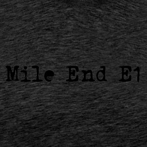 Mile End - Premium-T-shirt herr