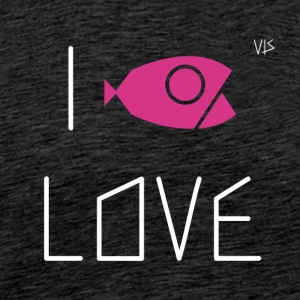 Vis - I LOVE - Men's Premium T-Shirt