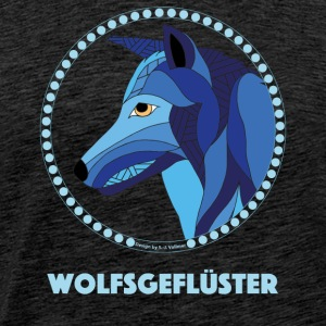 Wolfsgefluester - Men's Premium T-Shirt