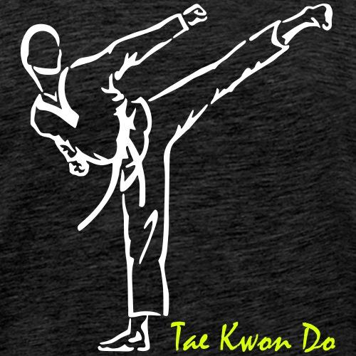 Tae Kwon Do - taekwondo Pose - Koszulka męska Premium