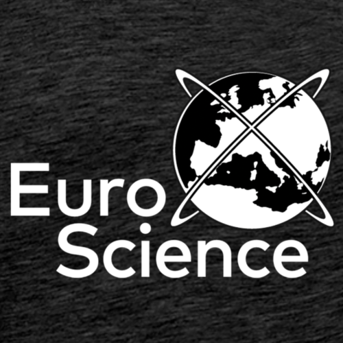 EuroScience - Logo White - Men's Premium T-Shirt