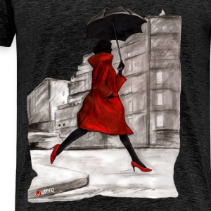 RAINING WOMAN - Men's Premium T-Shirt