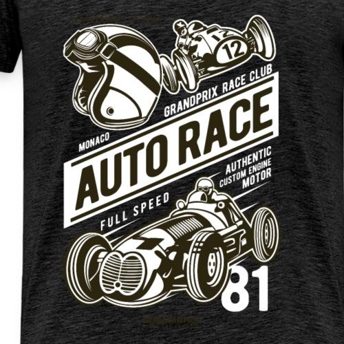 Auto Race - Männer Premium T-Shirt