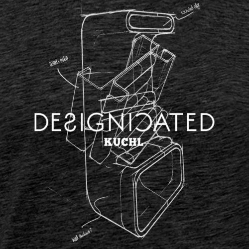 Designicated Kuchl weiß - Männer Premium T-Shirt