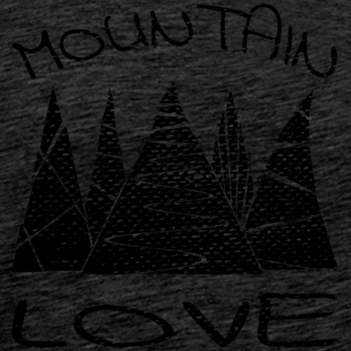 Outdoor Berge Mountain Love - Männer Premium T-Shirt