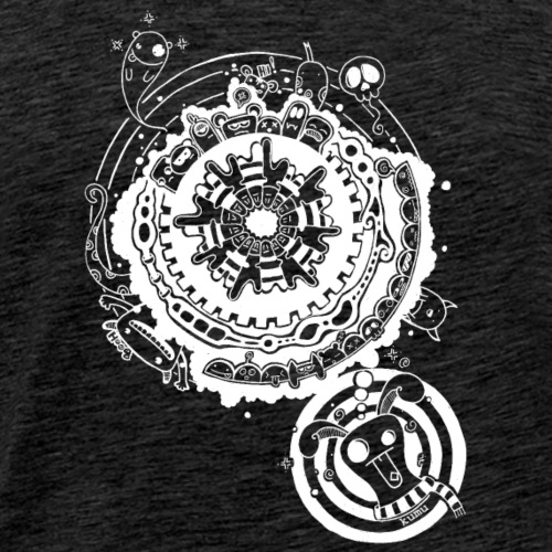 acid bunny - Männer Premium T-Shirt