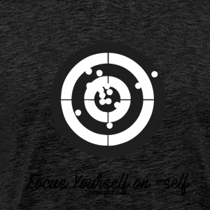 FOCUS ON VOUS MYSELF - T-shirt Premium Homme