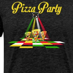 Pizza Party - Men's Premium T-Shirt