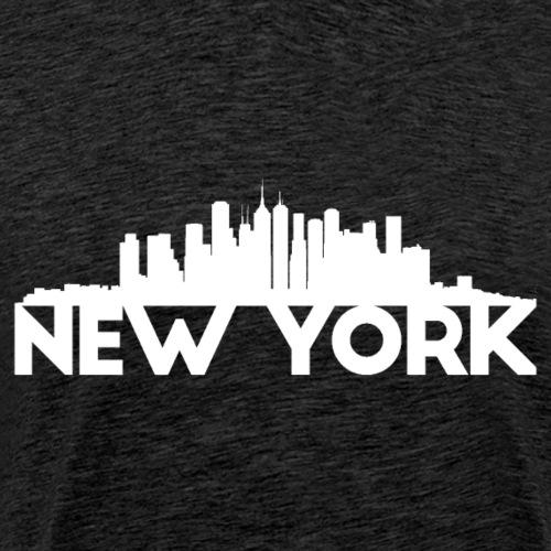 New York - white - T-shirt Premium Homme
