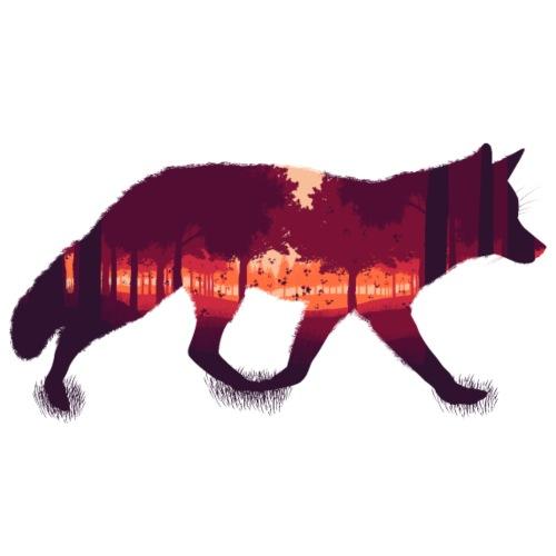 Wald im Fuchs - Männer Premium T-Shirt