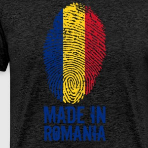 Made in Romania / Made in Romania Romania - Premium T-skjorte for menn