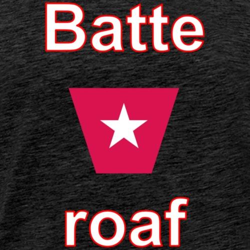 Batteraof w1 tp vert w - Mannen Premium T-shirt