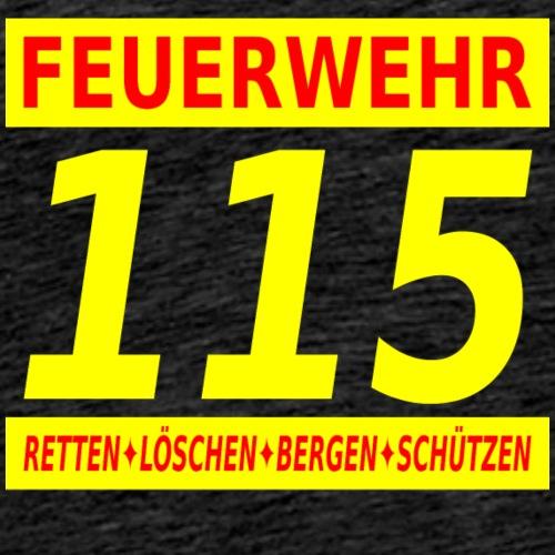 Feuerwehr 115 Südtirol / Italien - Männer Premium T-Shirt