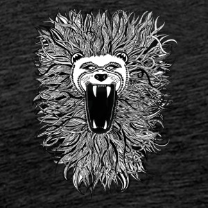 wild lion - Men's Premium T-Shirt