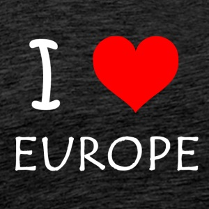 I love Europe - Männer Premium T-Shirt