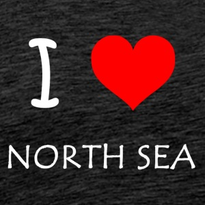 I Love North Sea - Men's Premium T-Shirt