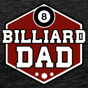 Billiards Dad - Men's Premium T-Shirt