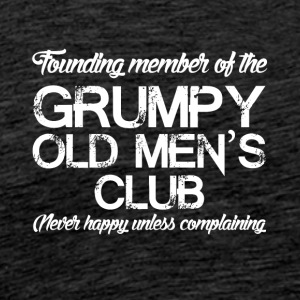 Grim old men - Men's Premium T-Shirt