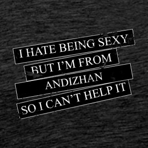Motive for cities and countries - Andizhan - Men's Premium T-Shirt