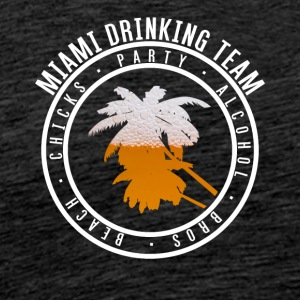 Skjorte for ferie Party - Miami - Premium T-skjorte for menn
