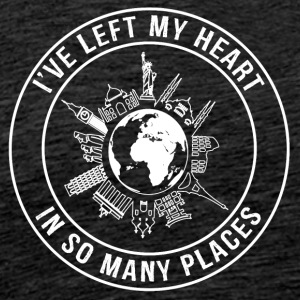 I've Left My Heart, In So Many Places - Men's Premium T-Shirt