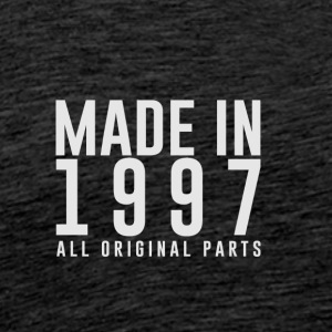 MADE IN 1997 - VERJAARDAG - Mannen Premium T-shirt