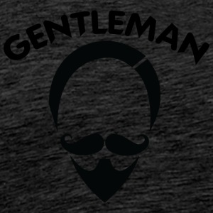 GENTLEMAN 6 black - Men's Premium T-Shirt