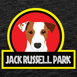 Dog / Jack Russell Jack Russell Park - Premium-T-shirt herr
