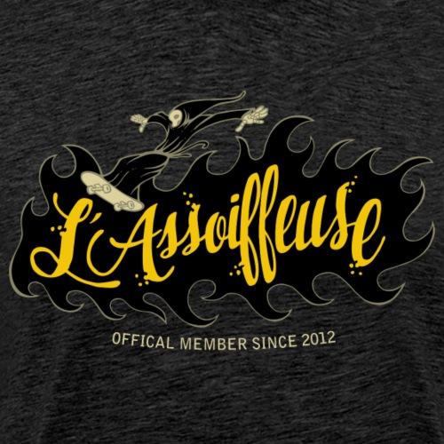 skateboard - l'assoiffeuse - T-shirt Premium Homme