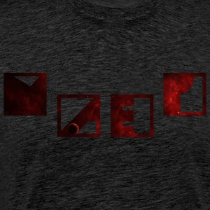 Galaxy Red - Männer Premium T-Shirt