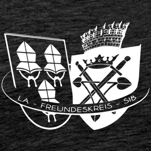 Freundeskreis LA SIB weiss - Männer Premium T-Shirt