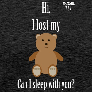 Teddy Pickup Line - Men's Premium T-Shirt