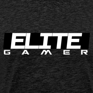 ELITE GAMER door Juiceman Benji Gaming - Mannen Premium T-shirt