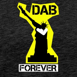 DAB FOREVER STATUE OF YELLOW Liberty- - Men's Premium T-Shirt