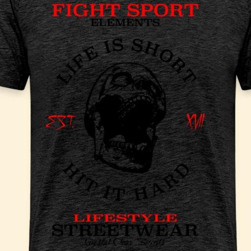 FIGHT ELEMENTS - Männer Premium T-Shirt
