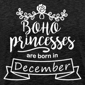 Boho Princesses are born in December - Männer Premium T-Shirt