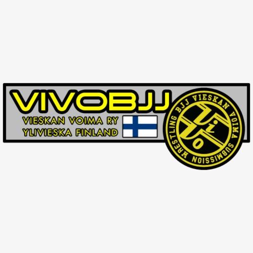 ViVoBJJ Patch - Miesten premium t-paita