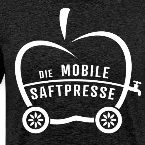 Die Mobile Saftpresse (weiß) - Männer Premium T-Shirt