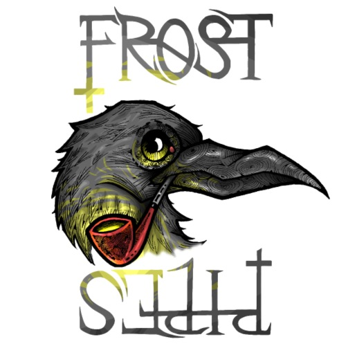 Frost Pipes Crow - Men's Premium T-Shirt