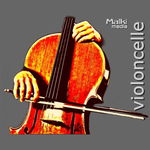 violonchelo - Camiseta premium hombre