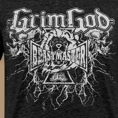 Grimgod Lightning - Männer Premium T-Shirt