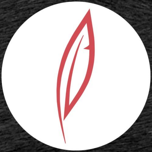 Logo - Rond blanc - T-shirt Premium Homme
