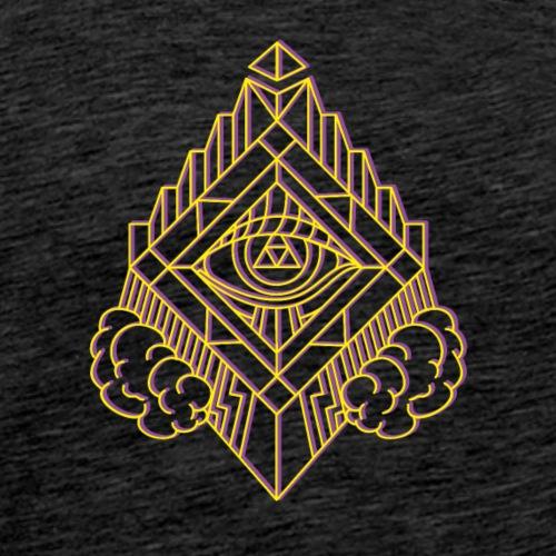 GeomTRIBE tattoo KoralDesign - Maglietta Premium da uomo